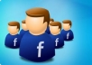 give 1300++ USA Guaranteed Facebook fans and likes, no admin access needed in 21 hours 