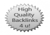 manually create ✔1 PR5, 2 PR3 and 2 PR1 high quality backlinks✔ (and maybe give you another PR4 backlink if I can!)