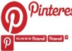 give you 110++ Pinterest followers, 100% real only