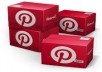 give you 500++ Pinterest followers, 100% real only