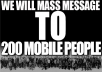 MASS message your product to 200 mobile people on Craigslist