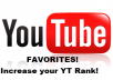 Give you 600 Video Favorites On Youtube