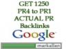 create 1250 PR4 to PR1 HIGH QUALITY Backlinks with about 20 PR4 150 PR3 400 PR2 800 PR1 of ACTUAL PAGE using blog comments