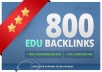 get 820 EDU seo links for your website through blog comments 