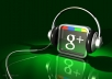 give u Guaranteed 100+ manual real google +1 (PVA Account) in your any websit