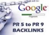 create 20 backlink from edu and gov with index PR4 to PR9@!