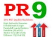 create 15► PR9 and 15► PR6+ ►Total 30 High quality Penguin safe backlinks for your site @!