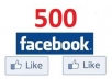 get you 500 REAL Human usa Facebook likes to your fanpage,website or blog without admin access