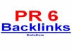 Give You PR6 Permanent Home Page links for Technology Niche