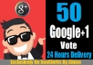 GIVE YOU 50 GOOGLE+ ON POST OR PROFILE OR VOTE IN ANY CONTEST ONLY