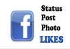 Get You 1000+ Facebook Photo,Video OR Post Likes