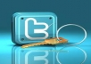 add 3500+ real looking twitter followers to your twittter profile who are not active twitter followers 