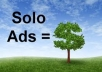 blast Your solo ads and Email Ads or any offer to Over 600k aweber SafeList members in IM niche