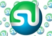 provide you 100 StumbleUpon LIKE for your site or blog or YouTube video