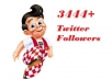 add 3444+ twitter followers in a fantastic way to improve the worth of your account by sending twitter followers!!!!!