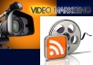 submit your video to 4 popular sites plus submit link to 500 bookmarking sites
