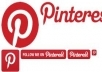 give you 500+ Pinterest Followers 100% Real &amp; Active on your account