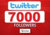 give you 7000+ [Staying] twitter followers, twitter followers within 24 hours!!@@!!