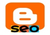 SEO your blog running on blogger/blogspot platform
