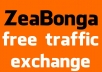 ATTENTION webmasters - WE are giving away Traffic for free not