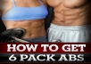 challenge you to my six week six pack abs work out and meal plan