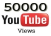 give 50,000+ youtube views, guaranteed youtube views