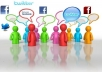 promote your Website or Link to more than 7000000 people on facebook & my Twitter followers
