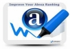 speed boost your alexa ranking 1 Million up in 4 days, best gig 