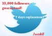get you 35,000+ Twitter followers guaranteed