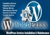 install Wordpress, plugins and complete setup 