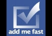give you the best ADDMEFAST bot what can earn for you thousands points in one day