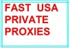 give you 5 USA Private Proxies for 1 month just
