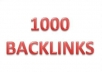Manually Create PENGUIN Safe 1000 Backlinks pr 0-7