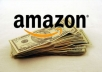 show you how to earn money on Amazon selling other people product and earn $1000 per month or more ***VERY EASY METHOD***