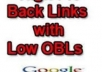 make 1200 Low OBL backlinks