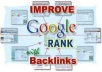 will provide 25000+ forum profile backlinks which will boost your google rank and bring you more traffic rapidly