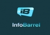 write a 500 high quality article on InfoBarrel.com based on your niche or topic, and then link it to your website or blog (link-building)
