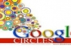 give you 150+ google circles  with in 24 hours_.,,.,