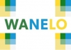 submit 50 of your posts on Wanelo and Share them on Twitter & Pinterest