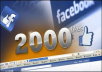 Provide 2000+ Real fFcebook likes