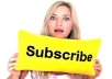 give you 2000 real youtube subscribers with in 5 days