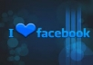give you 1500 facebook likes for your facebook fan page 