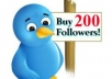 provide you ★★★  225 + ★★★  plus real Twitter FOLLOWERS ★★★with in  24 ★ hours ....★