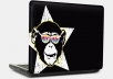 a monkey superstar protective skin for your laptops