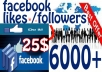 provide 150 facebook fan page likes or followers or post likes within 12 hours...