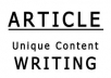 write 2 attractive unique articles in any topic with in 24 hours
