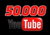 deliver 50,000 Permanent YouTube Views to Your Video
