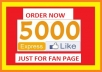 get you 10000+ Facebook Likes , Best Quality and Authentic With in 48 Hours