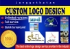 deSIGN High Quality Logo Banner for your website,product,business,company