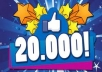 give you 20000 realy likes to FB